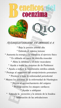 beneficios del coenzima Q10
