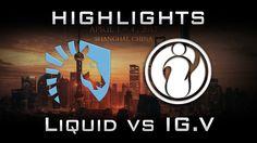 Liquid vs IG.V DAC 2017 Highlights Dota 2