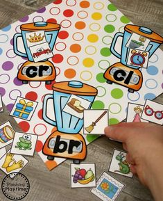 Digraphs and Blends Activities for Kids Phonics Activities, Kindergarten Literacy, Reading Activities, Activities For Kids, Measurement Activities, Phonics Blends, Blends And Digraphs, Word Work Stations, Literacy Stations