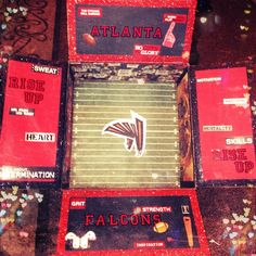 Atlanta Falcons Football themed care package/ September care package!