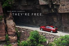 Take more chances. They're free. Cadillac Ats, Vs The World, Sports Sedan, Car Posters, Vehicles, Psychology, Fun, Life, Products