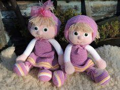 Amigurumi Crochet Pattern Masha The Russian Girl por KiprePahkla
