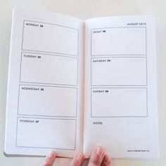 DIY Planner for the Midori Traveler's Notebook free printables
