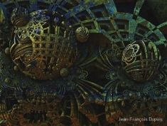 #arts #illustration #digital #fractal #jfdupuis