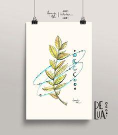 Folhagem - órbita floral - Amanda Mol | Loja