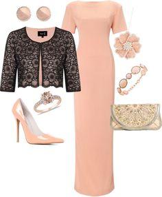 Go elegant in pink!