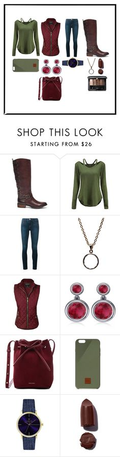 """""""I Honestly Don't Know if I Like This"""" by alexandra-3-grace ❤ liked on Polyvore featuring Sole Society, Frame, Puck Wanderlust, Allurez, Mansur Gavriel, Native Union, Laruze and Guerlain"""
