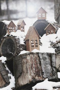 L'inspiration de Noël de style danois