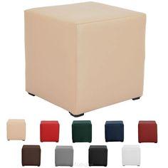 Pouf cube extra - BoutiqueDuTapissier