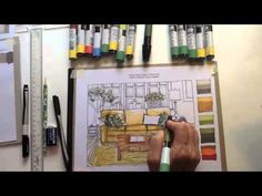 Marker Rendering Sofa Demonstration