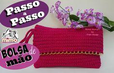 PASSO A PASSO BOLSA de MÃO/ CARTEIRA - TUTORIAL COMPLETO- DIY