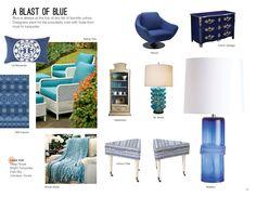 Trend: A Blast of Blue #hpmkt