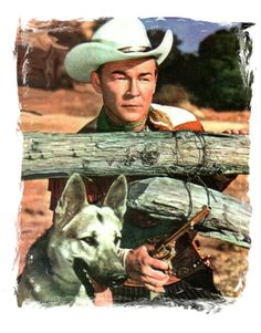 Roy Rogers King of the Cowboys and his best friend Bullet