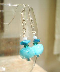 Creative in Chicago: a decorating blog: Turquoise Earrings