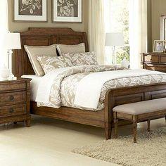 Bedrooms, La Conner Queen Panel Bed, Bedrooms | Havertys Furniture
