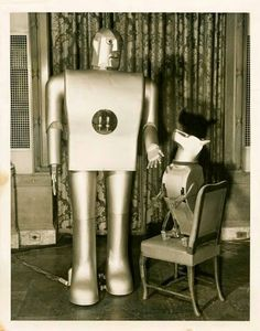 Electro & Sparko 1939 NY World Fair - #Expo2015 #Milan #WorldsFair