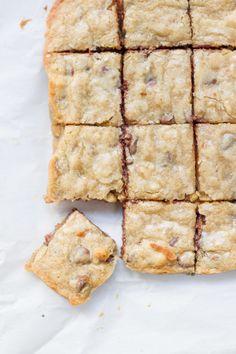 Bourbon Choc Chip Blondies | 22 Brownies That Prove Blondes Do It Better