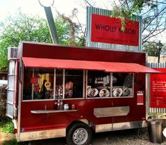 Austin, Texas Food Trucks: Wholly Kabob They offer Persian style grilled kabob skewers served in a pita or over rice. Their menu has endless possibilities including vegetarian options.