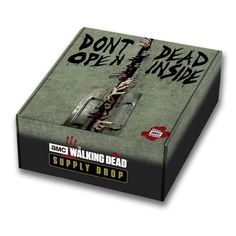 HOW IT WORKSWhen you sign up for The Walking Dead Supply Drop, you join a subscription box service. You'll be charged $49.95 (plus shipping and any applicable t