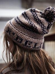 Knit Beanie.