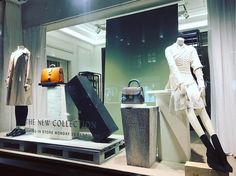 """BURBERRY, Regent Street, London, UK, """"The New Collection Unveiled"""", pinned by ton van der Veer"""