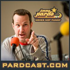 """Never Not Funny!! Jimmy Pardo!! """"...One of the funniest men on the planet... Every week, he sits down with producer Matt Belknap and a guest from the world of comedy to shoot the breeze, share stories and laugh at life. The free-flowing discussion can lead anywhere, but whether Jimmy's talking about growing up in the '70s and '80s, his unbridled love of classic rock or facing the trials of modern life...it's guaranteed to make you laugh."""" -pardcast.com"""