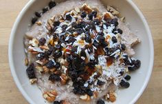 Coconut Buckwheat Porridge