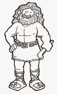 free coloring pages to print, samson coloring pages