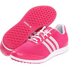 pink adidas golf shoes