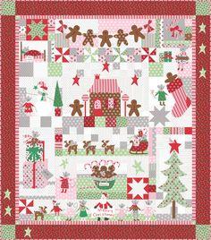 Sugar Plum Christmas quilt By Bunny Hill   **I have the fat quarter bundle of Sugar Plum already......
