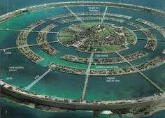 Design of Atlantis as described by Plato