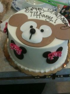 Final Touch Bakery - Westminster, CA, United States. Duffy the Disney Bear!