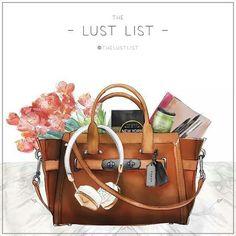 the lust list brown bag