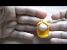 Alice in wonderland chibi kawaii fimo tutorial - YouTube