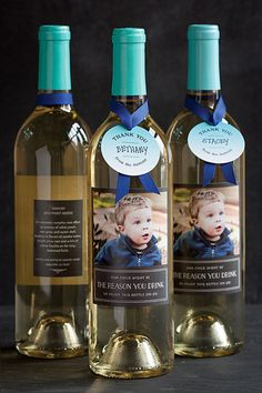 OUR CHILD MIGHT BE THE REASON YOU DRINK: Hilarious personalized wine bottle teacher appreciation gift