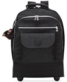 Kipling Luggage Sanaa Wheeled Backpack Functional and stylish wheeled backpack Backpack With Wheels, Rolling Backpack, Backpack Reviews, Kipling Bags, Backpack Online, Hiking Backpack, Ten, Mens Gift Sets, Baby Clothes Shops