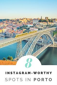 Discover the best #viewpoints in #Porto, perfect to take #instagram #photos!