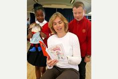 Mary Ann Bernal: Literary treat: Children's author Ngaire Elder, writer of The Adventures of Cecilia Spark, visited Seeley Primary School, Sherwood