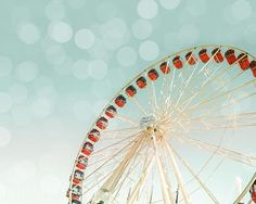 Carnival photography ferris wheel vintage inspired photo