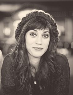 Lizzy Caplan. I think she is so beautiful and tomboyish and I love her voice too!