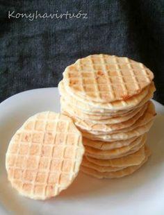 Konyhavirtuóz: Sajtos tallér Dessert, Food For Thought, Biscotti, Waffles, Bread, Cooking, Breakfast, Cake, Party