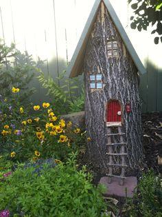 Creative tree stump idea!