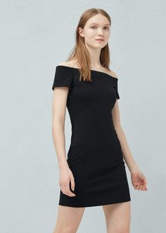 Fitted dress - Dresses for Women | MANGO USA