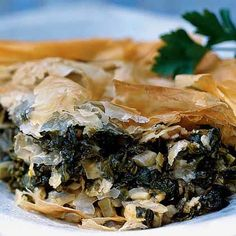 Greek Greens-and-Cheese Pie