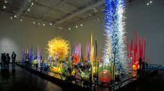 Coupled with Tacoma Art Museum's extensive display of its collection of Chihuly's early work in glass, the museum will offer visitors a broad view of the artist's career. Description from dianefarrisgallery.com. I searched for this on bing.com/images