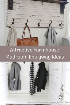 ✓ 10 Attractive Farmhouse Mudroom Entryway Ideas - Even a shallow house, just like the one pictured right here, can perform as a mudroom with inventive storage design. Entryway Storage, Entryway Ideas, Ikea Mud Room, Small Mudroom Ideas, Small Entryways, Storage Design, Wardrobe Rack, Shallow, Farmhouse Ideas