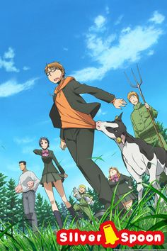 Winter 2014, Gin no Saji 2: Almost makes me wish to transfer to an agricultural school.