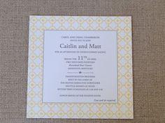 wedding invitations columbus ohio forwards letterpress wedding