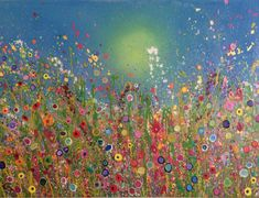 Five Reasons to Buy Affordable Art from Independent Artists  - Yvonne Coomber UK Flower Artist #flowerart