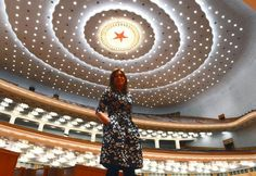 La presidenta Cristina Fernández de Kirchner en su gira por China UNA JOYA ARGENTINA